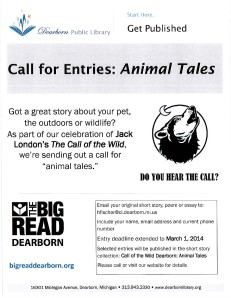 Animal Tales flyer updated
