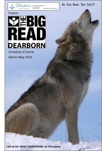 The Big Read Dearborn Schedule of Events [PDF]