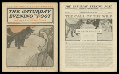 The Saturday Evening Post, June 20, 1903, feat. The Call of the Wild