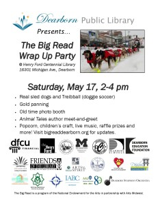 Big Read 2013-14 flyer Wrap Up