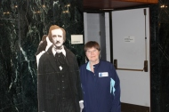 Bonnie Bilbrey with Poe