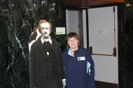 Bonnie Bilbrey with Poe