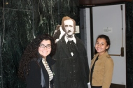 Claudia and Joël Hammoud with Poe