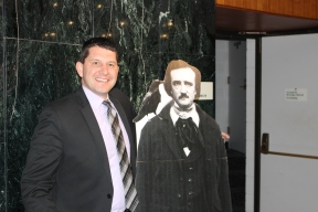 Dearborn Public Schools Superintendent Glenn Maleyko with Poe
