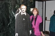 Debbie Okun Hill with Poe