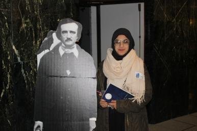 Intasar Shami with Poe