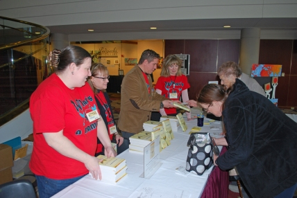 Handing out FREE books