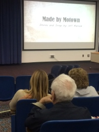 "Finishing up with ""Made by Motown"""