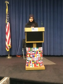 """Nour Nasser reading her poem, """"What's in a Name?"""""""